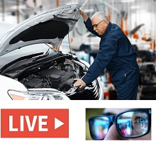 Vehicle Machine Repairing Maintenance Monitoring by Remote Live Streaming Camera