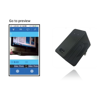 Wi-Fi IP HD Adapter Camera DVR