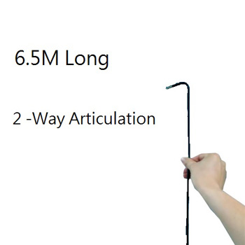 Extra Long 2-Way Articulating Φ6.0 mm 6.5Meter Long Inpsecton Videoscope DVR