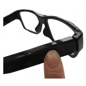 Full HD Spy Glasses Hidden Camera with Exchangeable Battery Temple