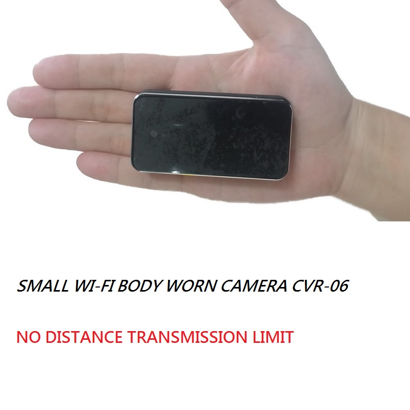 WiFi IP Body Worn Camera good for Remote Vehicle Machine Repairing Maintenance Live Streaming