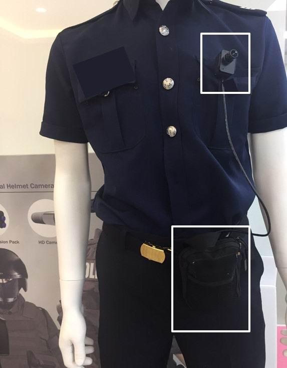 Police 4G Camera
